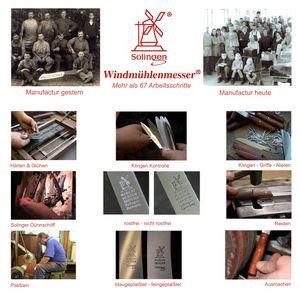 Herder K-Serie Marille rostfrei ALLE MESSERTYPEN + SCHARFsinnig Multi-Bürste – Bild 12