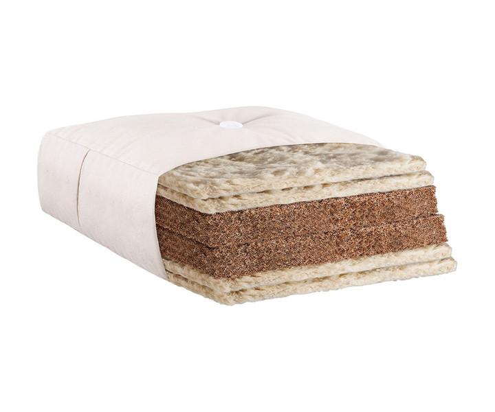 Futon Kokos Extra mit 4x Schafwolle und Kokos