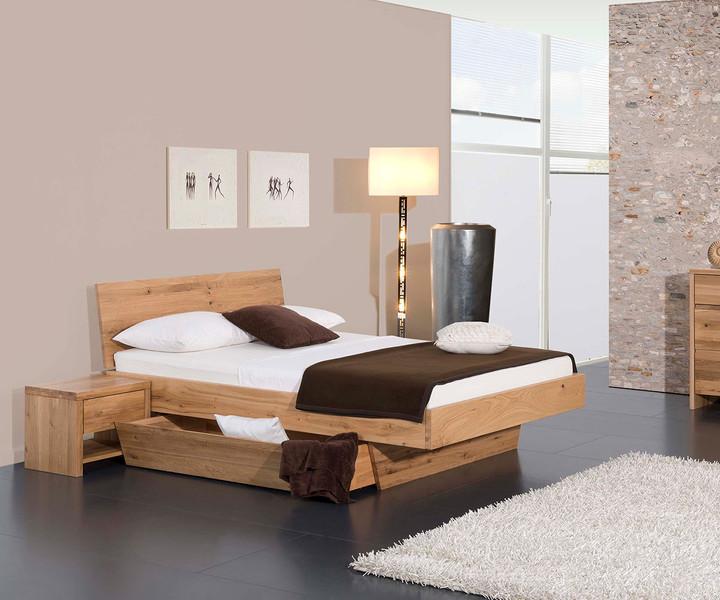 Bett Natura Plus Kopfteil Matina Fußteil Novara mit 1x Bettkasten von Modular kaufen