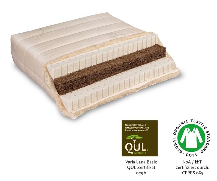 Naturmatratze Varia Lana Sandwich von Baumberger kaufen