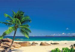 Komar Fototapete Seychellen 270 x 194 cm #4-006 Bild 1