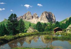 Komar Fototapete Dolomiten 388 x 270 cm #8-9017 Bild 1