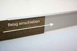 Einfassleiste Sockelleiste für Designbeläge Design Leiste 55  Bild 8
