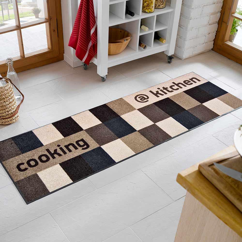 fu matte wash dry kitchen braun 60x180 cm fu matten. Black Bedroom Furniture Sets. Home Design Ideas
