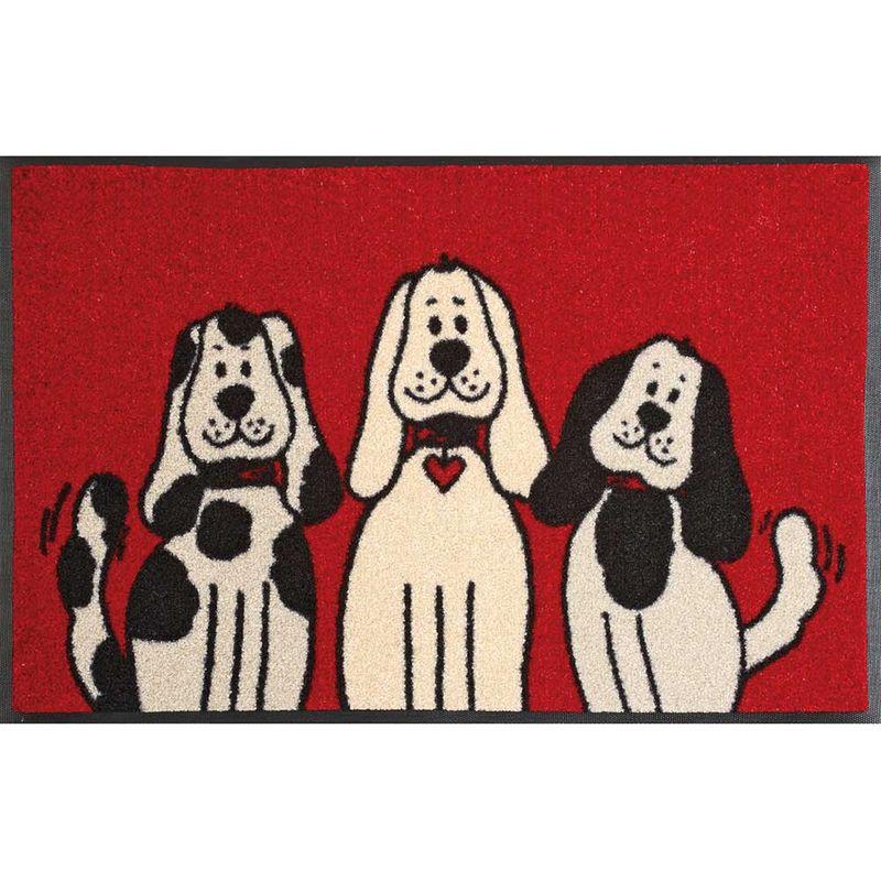 Fußmatte wash and dry Three Dogs 50x75 cm