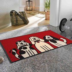 Fußmatte wash and dry Three Dogs Designbeispiel