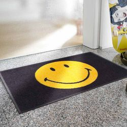 Fußmatte wash+dry Smileyworld Smiley Designbeispiel