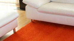 Shaggy Alexis Orange 74 |Muster Bild 2