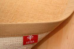 Astra Sisal Teppich Natur mit Stoffbordüre #002 |Muster Bild 2