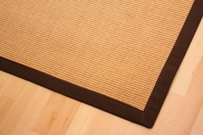 Astra Sisal Teppich Natur mit Stoffbordüre #066 |Muster Bild 3