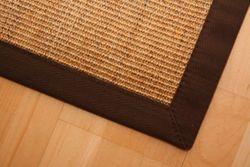 Astra Sisal Teppich Natur Meliert mit Stoffbordüre #066 |Muster Bild 3