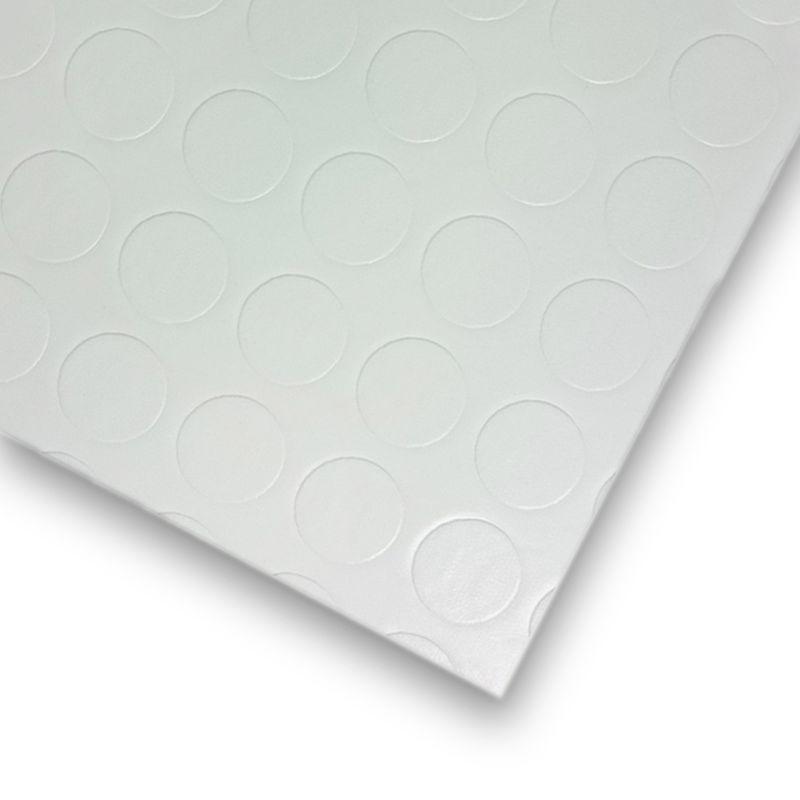 PVC Tarkett Noppe Weiß |Muster Bild 2