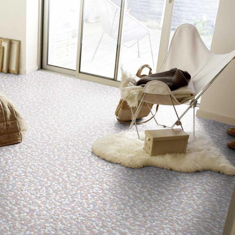 PVC Tarkett Design 200 Kiesel Steine  Muster Bild 2