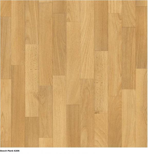 PVC Texalino Supreme Beech Plank 620S  Muster Bild 1