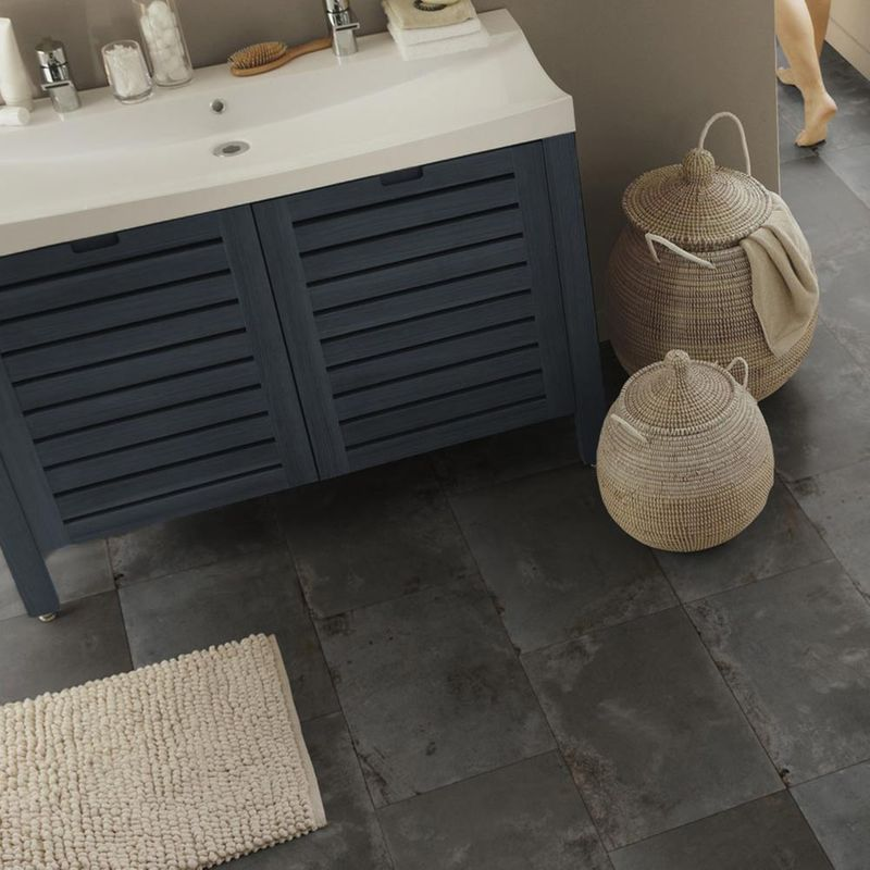 PVC Bodenbelag Tarkett Select 150 | Rusty Black Designbeispiel 2