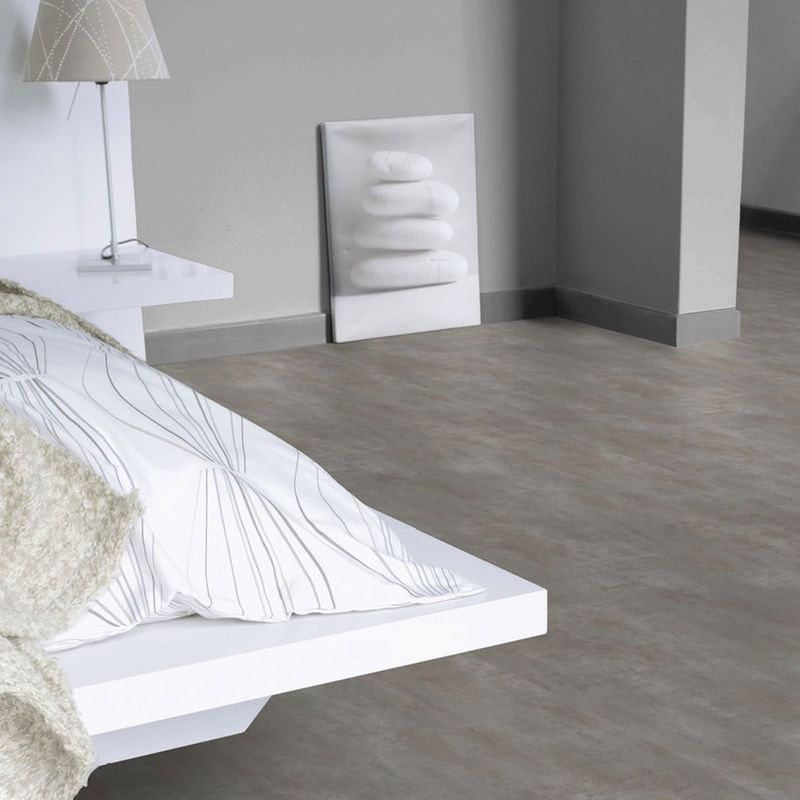PVC Bodenbelag Tarkett Select 150 | Stromboli Gris Fonce Designbeispiel 2