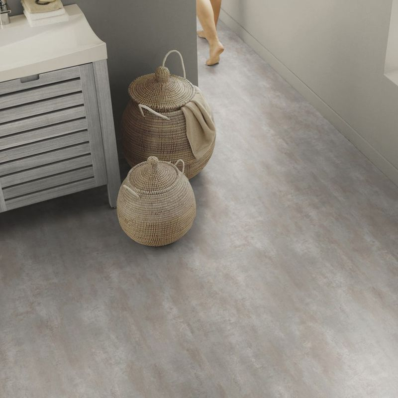 PVC Bodenbelag Tarkett Select 150 | Stromboli Gris Fonce Designbeispiel