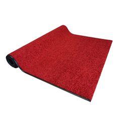 Astra Schmutzfangläufer Proper Tex Rot auf Maß | 120 cm breit; Länge variabel