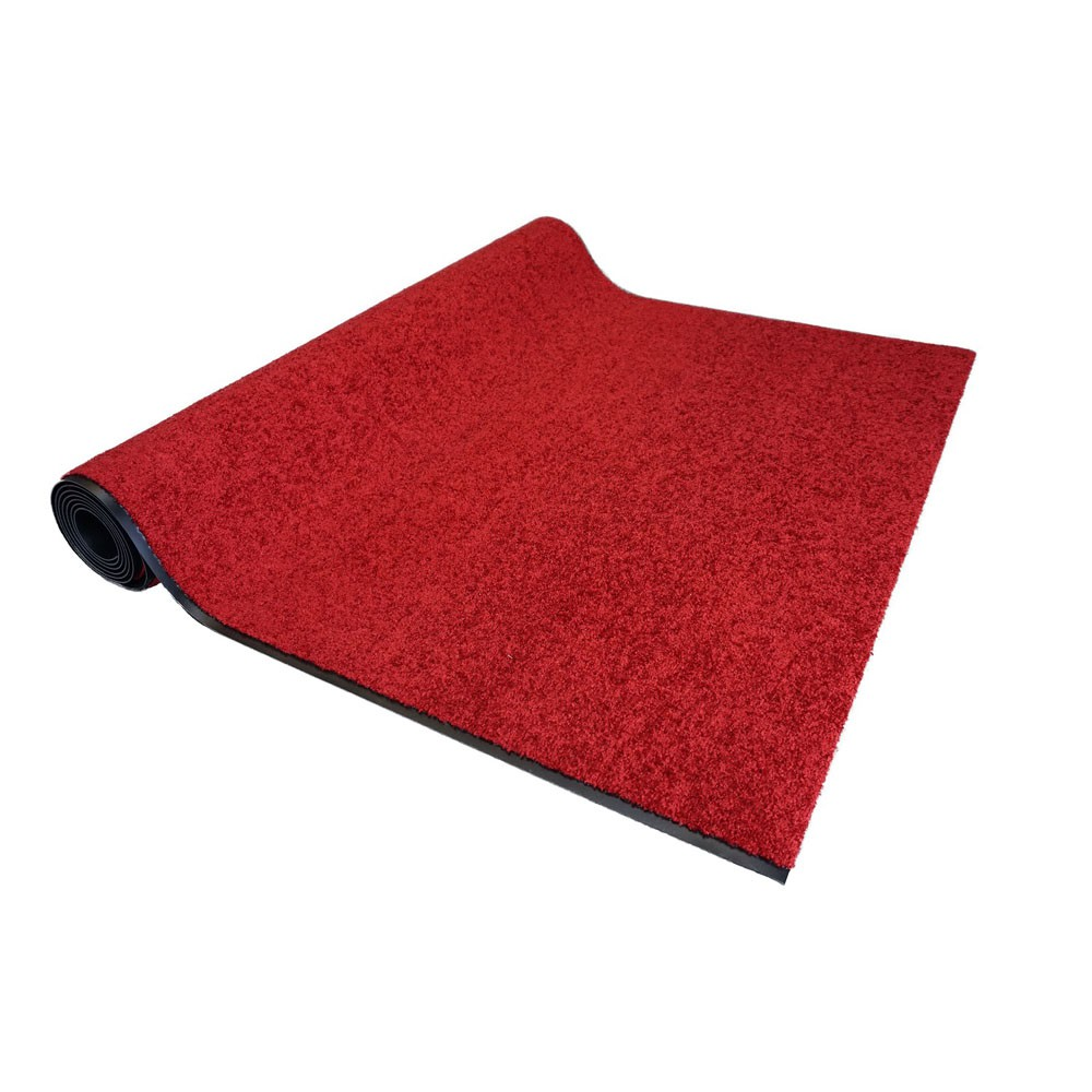 astra schmutzfangl ufer proper tex rot auf ma 200 cm breit l nge variabel fu matten. Black Bedroom Furniture Sets. Home Design Ideas