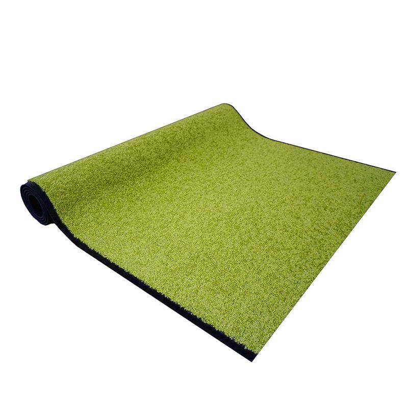 Astra Schmutzfangläufer Proper Tex Grün auf Maß | 200 cm breit; Länge variabel