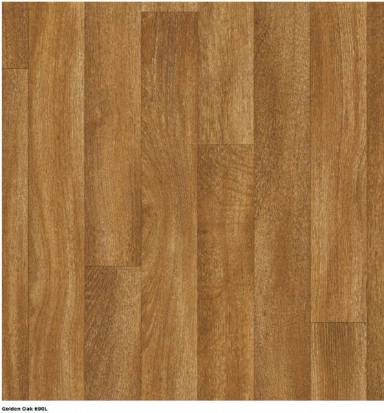PVC Belag Texalino Supreme Golden Oak 690L 5m