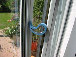 Türstopper Fensterstopper Stoppi Hellblau Bild 2