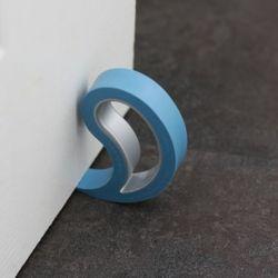 5 x Türstopper Fensterstopper Stoppi Hellblau