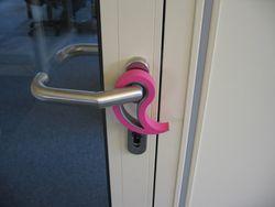 10 x Türstopper Fensterstopper Stoppi Pink Bild 2