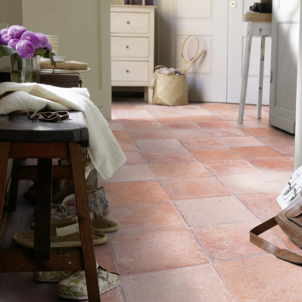 pvc fussboden tarkett select 280t flagstone dark beige 2m bodenbel ge pvc belag 2 00 m. Black Bedroom Furniture Sets. Home Design Ideas