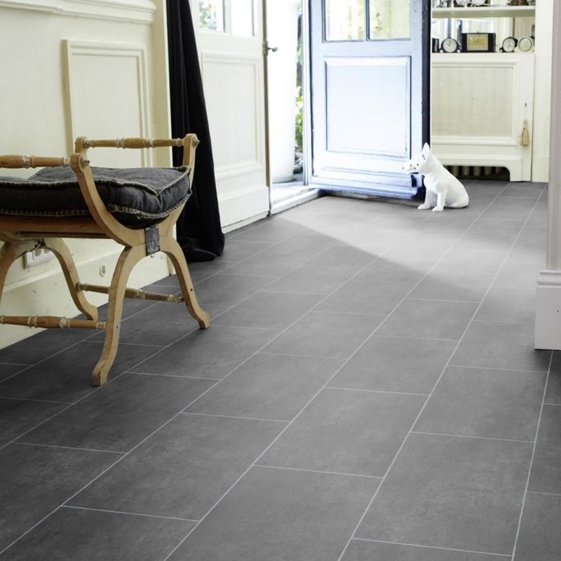 PVC Boden Tarkett Select 280T Melbourne Noir Designbeispiel