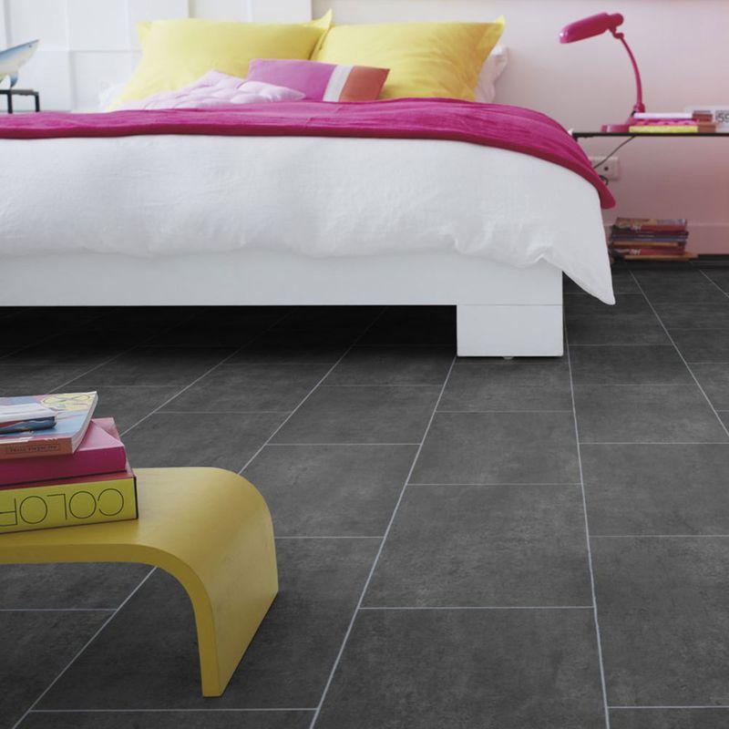PVC Boden Tarkett Select 280T Melbourne Noir Designbeispiel 2