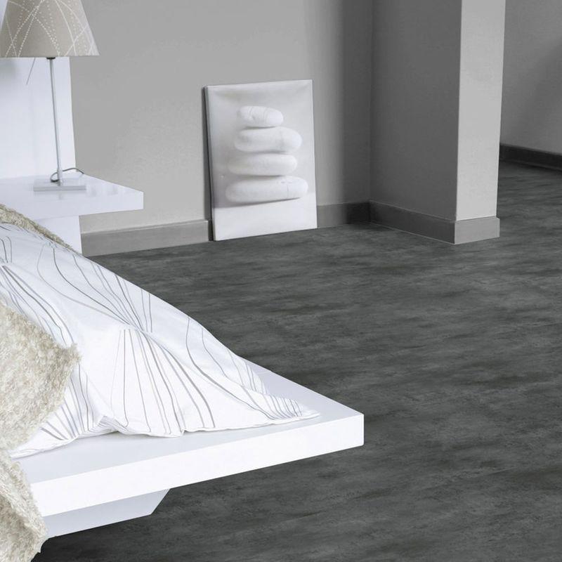 PVC Boden Tarkett Select 280T Stromboli Acier Designbeispiel 1