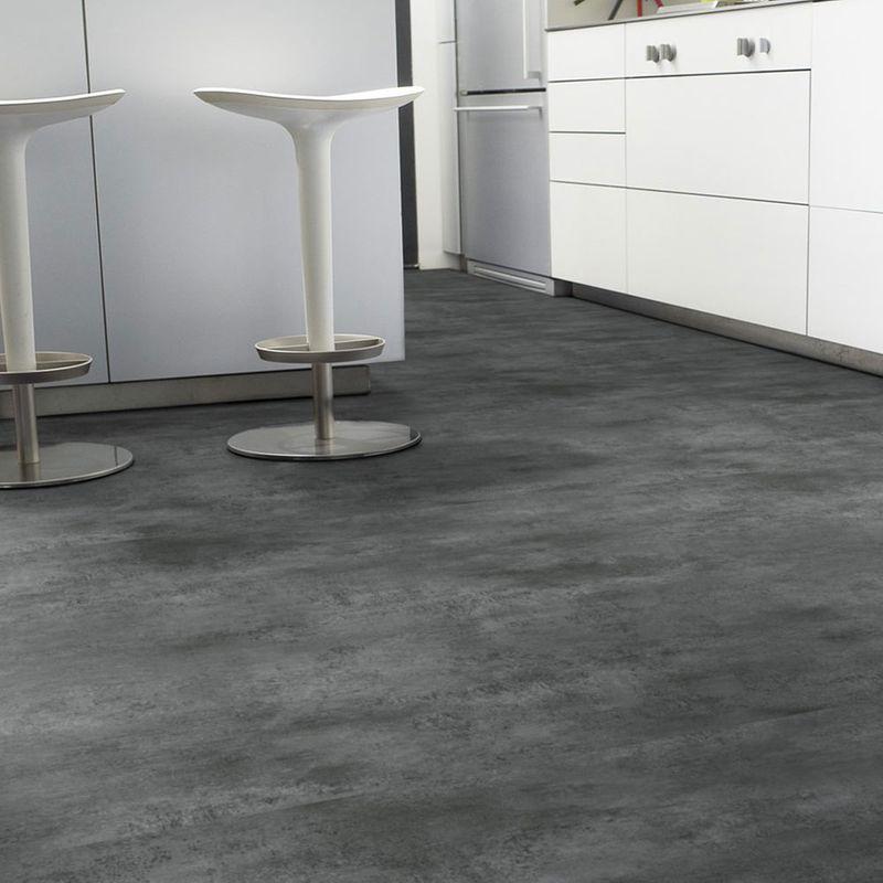 PVC Boden Tarkett Select 280T Stromboli Acier Designbeispiel 2