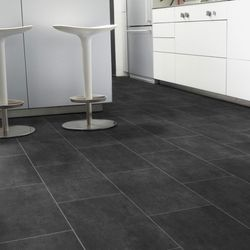 PVC Tarkett Select 280T Melbourne Noir Designbeispiel 3