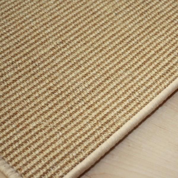 Sisalteppiche  Sisalteppich Kettelteppich Manaus | Farbe: Natur 07 Teppiche Sisal ...