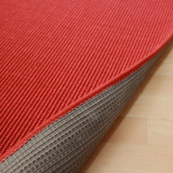 Sisalteppich Kettelteppich Manaus | Farbe: Rot 11  Bild 3