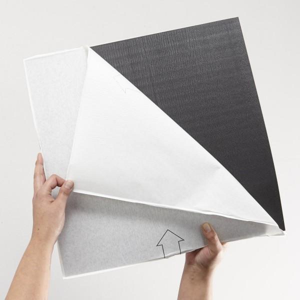 Gerflor Vinyl Fliese Design 0224 White Tile Rücken