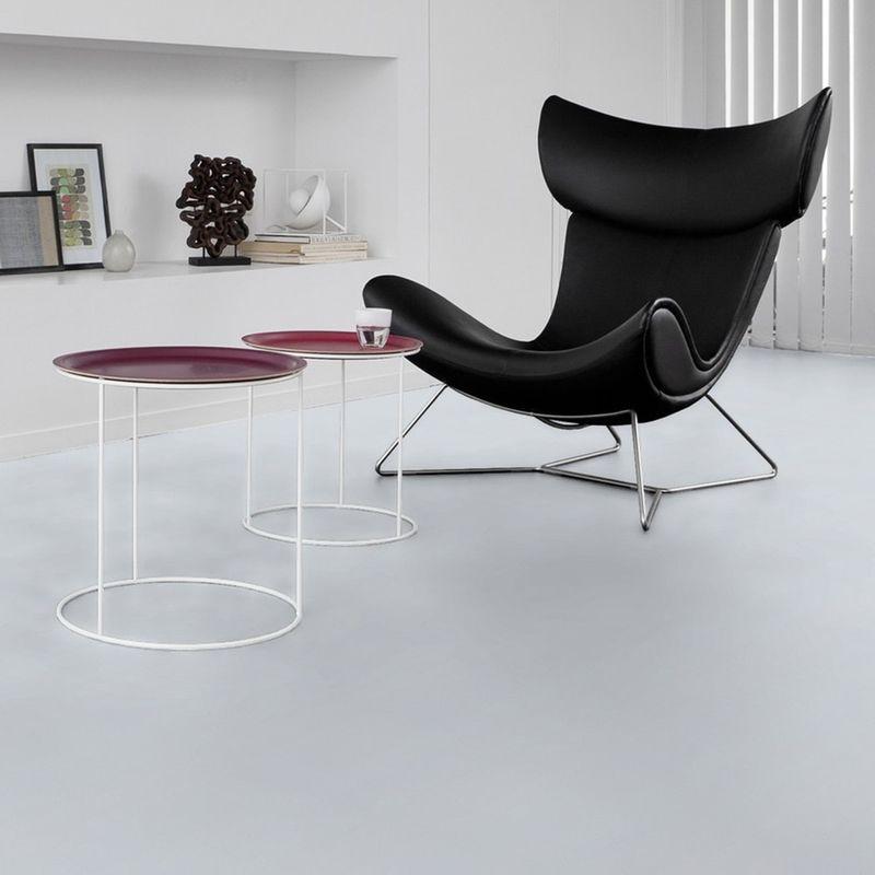 Gerflor Vinyl Fliese Design 0224 White Tile Designbeispiel