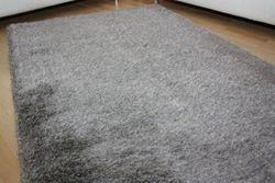 Shaggy Teppich Cosy Grau Bild 3