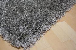 Shaggy Teppich Cosy Grau Bild 6