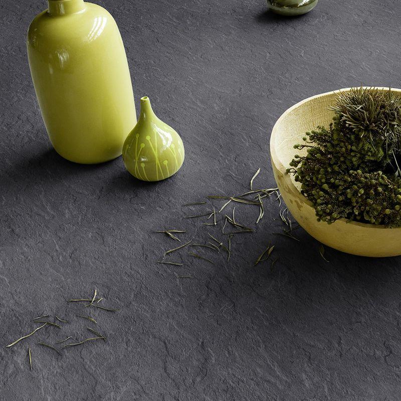 Gerflor Vinyl Fliese Design 0220 Salate Anthrazit Designbeispiel 2