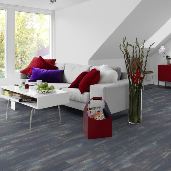 Klick Vinyl Tarkett Starfloor Click 30 | Colored Pine-Blue 2,009 m² Bild 1