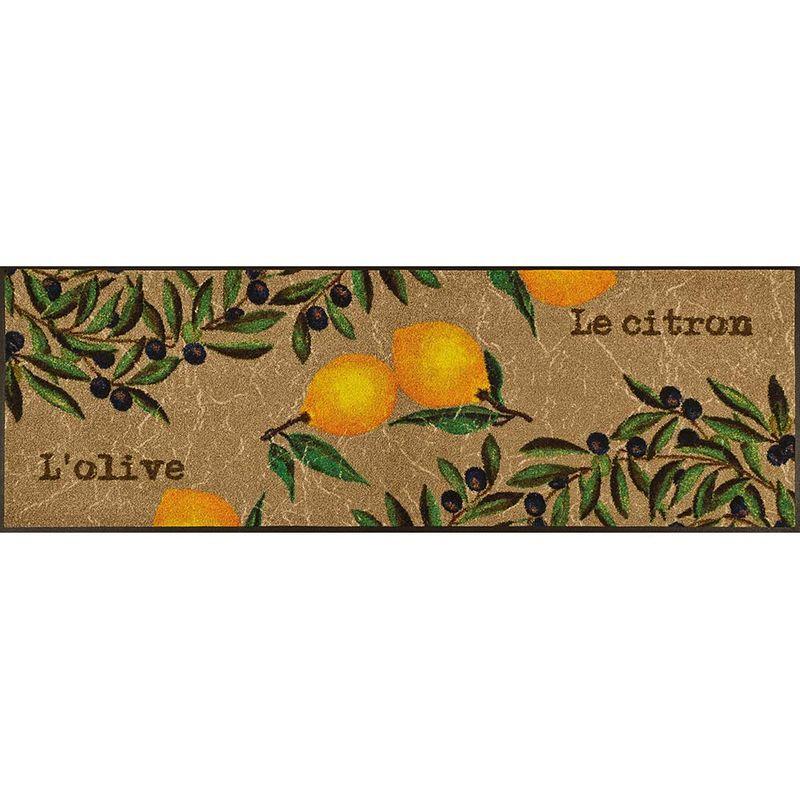 Fußmatte wash and dry Design Le Citron 60x180 cm