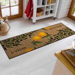 Fußmatte wash+dry Design Le Citron 60x180 cm
