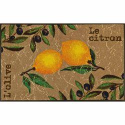 Fußmatte wash+dry Design Le Citron 75x120 cm