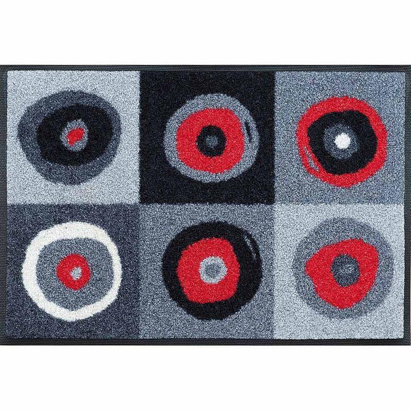 Fussmatte wash+dry Design Sergej grey 40x60 cm