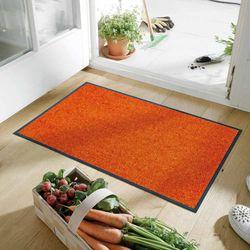 Fussmatte wash and dry Trend-Colour Burnt Orange 50x75 cm Designbeispiel