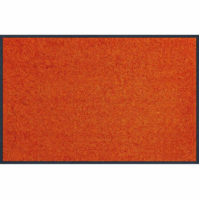 Fussmatte wash+dry Trend-Colour Burnt Orange 120x180 cm