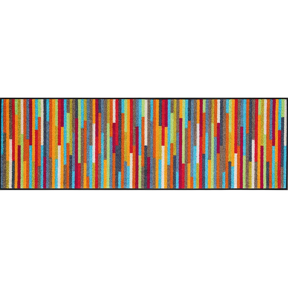 fu matte wash dry design mikado stripes 60x180 cm. Black Bedroom Furniture Sets. Home Design Ideas
