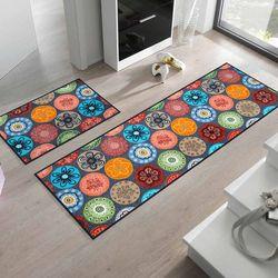 Fußmatte wash and dry Design Coralis 60x180 cm Designbeispiel